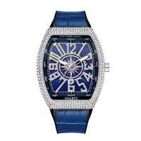 Homens Pintime Moda Relógio Shinning Diamante Gelado de Relógios De Aço Inoxidável Movimento De Quartzo Masculino Vestido Casual Relógio Relógio Partido Relógio Montre