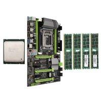Scheda madre RAMS X79 LGA2011 Combo con E5 2620 CPU 4-CH 16 GB (4x4GB) DDR3 RAM 133Hz NVME M.2 Slot SSD