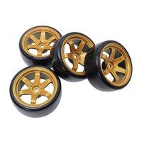 Дрифт на дорожных автомобильных шинах колеса Hub Rim 60mm для 1:10 RC HSP HPI Sakura TT01 Tamiya Traxxas D4 дрейфующие автомобильные аксессуары