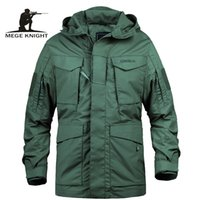 Mege Brand M65 Military Camouflage Male clothing US Army Tactical Men's Windbreaker Hoodie Field Jacket Outwear casaco masculino 201106