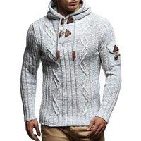 Casual homens camisola primavera outono a nova moda solta simples designer popular melhor vendedores com capuz button