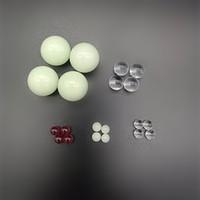 Boom Quartzo 6mm 8mm 10mm 22mm Luminosas Vermelho Verde Verde Clear Vidro Terp Pérolas para Banger de Quartzo