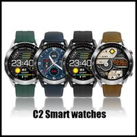 C2 Retail termômetro watchs inteligentes Heart Rate aptidão Blood Pressure Tracker IP68 à prova de água gps Sports Bluetooth android DZ09 relógio inteligente