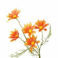 Artificial Pastoral Flowers Home Decor Decor Decorazioni Chrysanthemum Multi Colori Decorare il singolo ramo simulato Orchid Vendita calda 1 75Hz L1