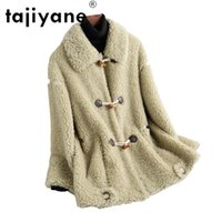 Women's Wool & Blends Tajiyane Coats And Jackets Women Real Fur Coat Woman 100% Jacket Womne's Clothing High Quality Clothes Abrigo Mujer TN