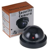 무선 홈 보안 가짜 카메라 시뮬레이션 된 비디오 감시 실내 / 실외 감시 더미 IR LED 가짜 돔 카메라