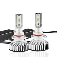 100x 9005 H11 H4 H7 H1 LED H1 Auto Auto faro 60W 10000LM IP67 Lampadina Automobile Tutto in One Zes Auto Front Light Fog Lamp1