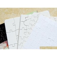 Blank Sublimation A4 Jigsaw Puzzle FAI DA TE Heat Press Transfer Crafts Puzzle Office School s Sqczeb Lyqlove