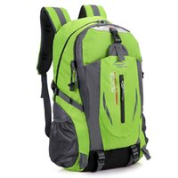 40L водонепроницаемый прочный открытый восхождение рюкзак женщин мужчины пешие спортивные спортивные путешествия рюкзак высокого качества рюкзак