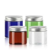 Пустые косметические банки 50 г 80 г пластиковые кремовые контейнеры для бутылок упаковки пополняемые бутылки макияж инструмент для хранения инструмента 00101pack