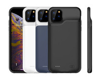 8000mAh iPhone 12 Pro Max / 12 Pro / 12 Maks / 12 Harici Yumuşak Silikon İnce Pil Gücü Kılıf Bankası Şarj Yedekleme Kapak