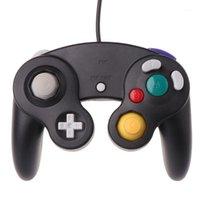 Controller di gioco Joysticks 2021 Regolatore cablato NGC GameCube Gamepad per il controllo Wii con GC Port1