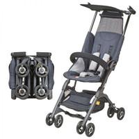 GB Pockit 2S Tarjeta de bebé ligero Cochecito de bebé Carrito de bebé plegable rápido Four Wheels Cochecito Fácil de llevar Actualización1