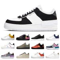 Nike Air Force 1 Af1 Dunk 1 2020 حار الظل أزياء 1 منخفضة الاحذية رسم حزمة أورورا 07 LV8 يغمس الرجال والنساء المدربين الرياضية أحذية رياضية chaussures zapatos SCARPE