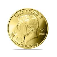 J'ai survécu 2020 commémoratifs d'argent Copier des pièces de monnaie pour amis Collectionneurs de famille DHL expédition