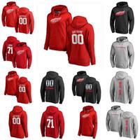 Detroit Red Wings Pullover Hoodie Justin Abdelkader Christoffer Ehn Adam Erne Robby Fabbri Valtteri Filppula Hockey Sweetshirts