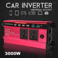 Autosprung Starterpower Inverter Kroak 3000W Solar Power DC 12V / 24V bis AC 110V / 220V Modifizierter Sinuswellenwandler für und Truck1