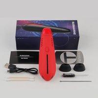 2200mAh 전자 담배 키트 Hugo 증기 잠수함 키트 건조 허브 기화기 Vape 펜 200-420F 온도 조절기 4 색
