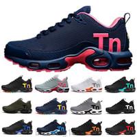 2020 Çocuk TN Artı Lüks Tasarımcı Spor Rahat Ayakkabılar Çocuk Erkek Kız Eğitmenler TN Sneakers Klasik Açık Yürüyor Sneakers BT11
