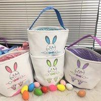 1pcs Seaux de lapin de Pâques fourre-tout Panier de lapin queue de Pâques Pâques sac à main pour enfants Festival Festival Décoration Party Fournisseur