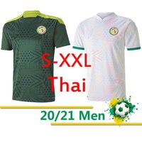 Thai Senegal Fútbol Jerseys National Football Team Koulibaly Gueye Kouyate SARR HOMME MAILLOT DE FOTUROS DE FOTUROS UNIFORMES 2020 2021