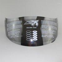 Masei 830 Anti Sis Cam Motosiklet Kask Cam Tam Yüz Kask Visor Motosiklet Yarışı Kaskları Lens1