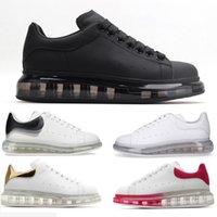 2021 Designer homens mulheres espadrilles plataforma de plataforma de grandes dimensões espadrille sneakers liso pequeno sapatos brancos tamanho 36-45 d6g9 #
