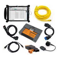 사용에 BMW ICOM A2 진단 프로그래밍 도구와 V2020.08 엔지니어 모드 플러스 EVG7 태블릿 PC 준비를위한