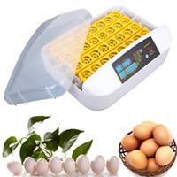 完全デジタルインテリジェント制御システム32卵デジタル自動旋削インキュベーター孵化器温度制御鶏卵インキュベーター