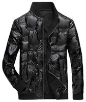 Mens Dowm Parka with Embossed Pattern Winter Fashion Mens St...
