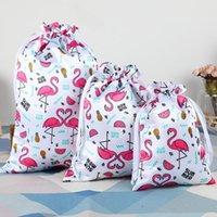 Bolsas de jóias, sacos 10 pçs / lote de alta qualidade cetim seda cordão bolsa embalagem de presente de embalagem para cabelos