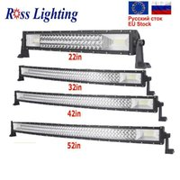 "7D Cuved 22 32 42 50 52"" inch 540W Offroad LED Work Lig..."