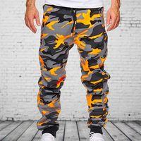 2020 New Autunno Winter Joggers Uomo Camouflage Pantaloni Casual Pantaloni Sweatpants Maschio Cargo Pantaloni Multi Pocket Sport Abbigliamento da uomo Joggers