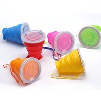 210ml mini tazze portatili tazze telescopiche tazza d'acqua con il coperchio con coperchio riutilizzabile tumbler in silicone pieghevole da viaggio all'aperto Vino 4 2xs B2