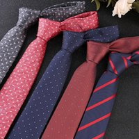 Бантики Галстурки Бизнес-галстук Модный жених Адвокат Профессиональный мужской джентльмен 7см Модный костюм Интервью Банкет Свадебные галстуки Gifts1