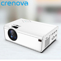 Projektörler Crenova Mini Projektör A13 (Android İsteğe Bağlı) 1280 * 720 P Çözünürlük Desteği WiFi 3D Bluetooth Ev Sinema Ile 4K