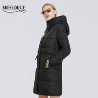 MIEGOFCE зимы новых женщин Коллекция Длина шерсти Женщины куртка Soft Layer Contrast Design Winter Parka ветрозащитной одежды 201014