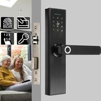 指紋のアクセス制御セキュリティのセキュリティの電子ドアロックバイオメトリック/デジタルコードスマートカードキー触れる触れる画面