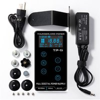 Tattoo-Stromversorgung Hurrican-Upgrade-Touchscreen TP-5 Intelligent Digital LCD Makeup Dual Tattoo Power Supplies Set