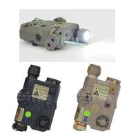 Bisiklet Kaskları FMA-0073 PEQ LA5 Yükseltme Sürümü LED Beyaz Işık + IR Lensler Ile Yeşil Lazer BK / DE / FG Kask Light1