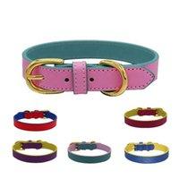 Hundekragen Leinen Imdogfactory Großhandel hochwertige weiche dauerhafte mode luxus einstellbare lederkrageneleine