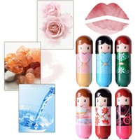 Hengfang Lippenstift Cartoon Cartoon niedlich befeuchtende und Riss Beweis Lippenbalsam Multifunktionsfrucht Make-up
