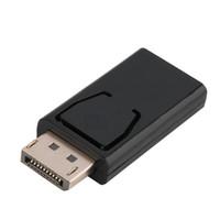 الأسهم عالية الجودة عرض مستوى العرض عرض منفذ dp ذكر إلى HDMI محول محول الإناث لماك بوك برو الهواء الشبكية HDTV