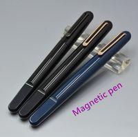 Hohe Qualität 12 Farben Magnetwalze Kugelschreiber Business Office Schreibwaren Luxurs Förderung Stifte Für Geburtstagsgeschenk