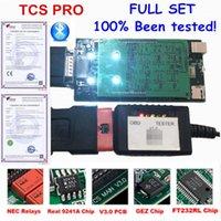 كود القراء أدوات المسح الضوئي V3.0 الأخضر لوحة OBDIICAT TCS PRO 2021R1 مع Keygen / 2021.1 Bluetooth كما MVD 3 في 1 MultiDiag Pro1
