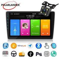 자동차 오디오 2 DIN 안 드 로이드 8.1 라디오 블루투스 비디오 입력 10 인치 용량 성 스크린 GPS WIFI 이동식 패널 얇은 USB DVD