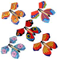 Magische Requisiten fliegende Schmetterlingsänderung mit leeren Händen Freiheit Schmetterlinge Grammarye-Tricks Z0257