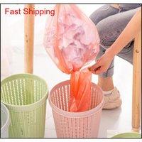 Rattan estilo lixo lata com auto-substituindo saco de lixo armazenamento cozinha lixo lixo lixo lixo lata de lixo fowylert toys2010