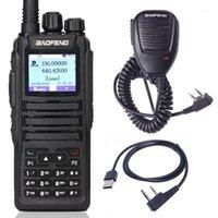 Walkie Talkie Baofeng DM-1701 Цифровой DMR Двухдиапазон Ham Любительская радиостанция Приемопередатчик Уровень 2 Время Двухсторонний Радио1