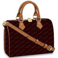 30 سنتيمتر محفظة حقيبة يد جودة عالية جلد النساء حمل الحقائب سيدة الكتف حقيبة الغالبة قفل سستة الأزياء handbgas